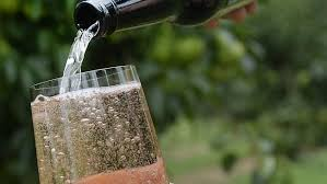 Pouring cider image